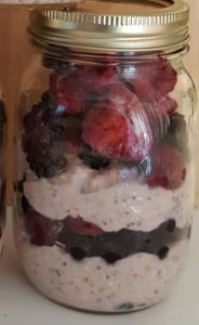 Mason Jar Breakfast – Fruit & Yogurt Breakfast Parfait (4 SP)